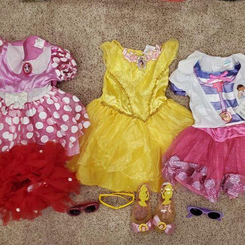 Disney Dresses Minnie Mouse Belle Doc McStuffins for sale in Bountiful , UT