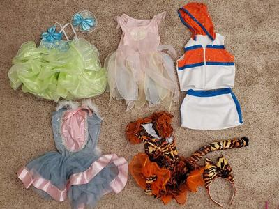 Kids Dressup Dresses Dance Outfits