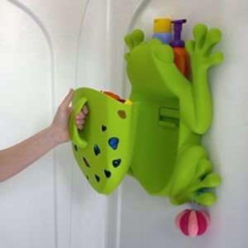 Like New! Boon Frog Pod Bath Toy Organizer for sale in Bountiful , UT