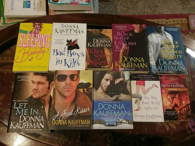 DONNA KAUFFMAN BOOK LOT OF 10 for sale in Sandy , UT