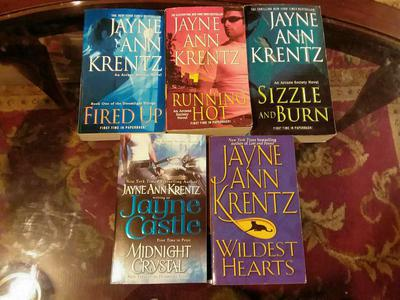 JAYNE ANN KRENTZ 5 BOOK LOT