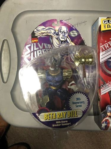 Silver Surfer Figure - Beta Ray Bill for sale in Provo , UT