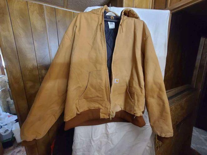Carhartt 2XL 14808 Heavy Duty work Brown Jacket for sale in West Jordan , UT