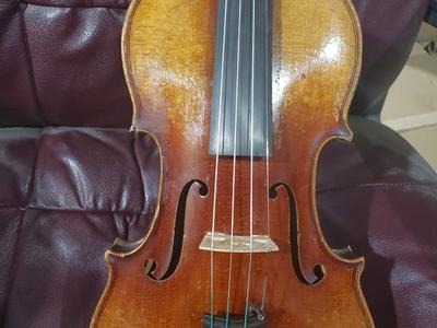 1904 Heinrich Th. Herberlein Jr. 4/4 German violin