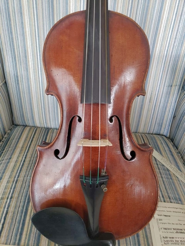 1742 Robert Duncan violin, w/1933 Purchase receipt & cert. authent. for sale in Provo , UT