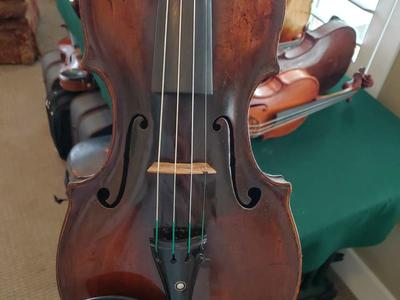 1755 Johann Hellmer, Prague, 4/4 18th Century Violin