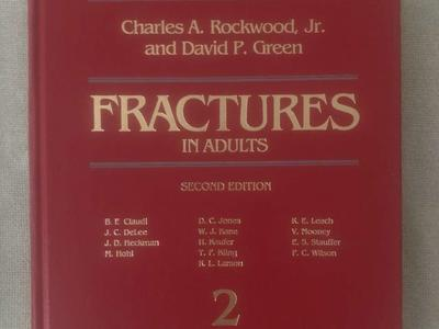 Fractures in Adults and Children--3 volumes--Rockwood and Green