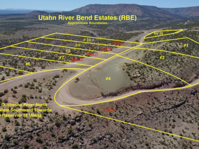 Land for Sale - Overlooking River! 2k Initial Investment & As low as 300/month! Call or text 801-575-5263