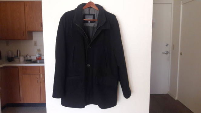 Covington Wool Navy Style Coat (XL) for sale in Salt Lake City , UT