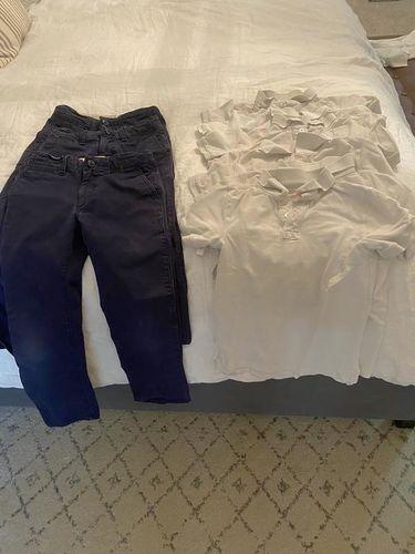 Boys size 6/7 school uniforms for sale in Draper , UT