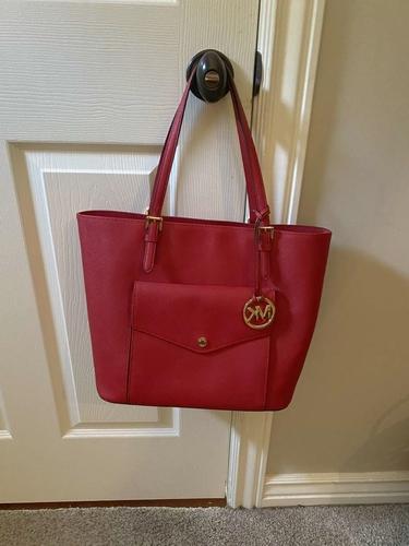 Red Michael Kors bag for sale in Draper , UT