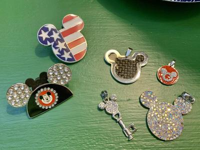Disney Mickey Mouse Pins/Jewelry Bundle