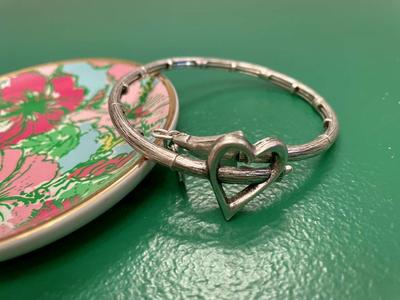 Ladies Alex+Ani Heart Fashion Bracelet
