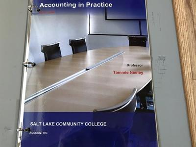 Accounting In Practice (ACCT 2540) ByTammie Neeley