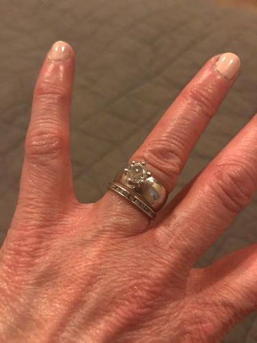 Platinum Wedding Ring for sale in Santa Clara , UT