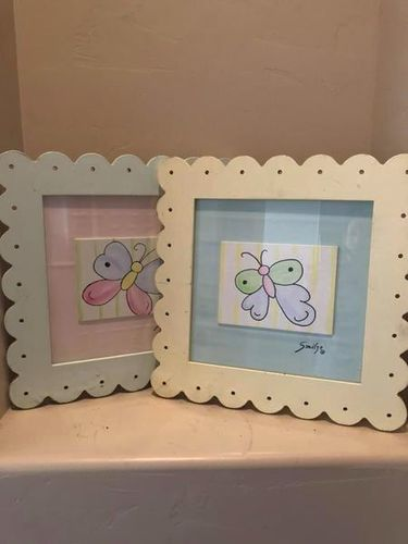 Set Of Two Girls Pictures for sale in Santa Clara , UT