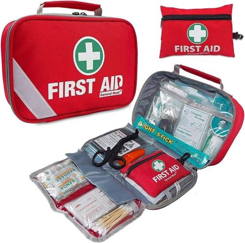 2-in-1 First Aid Kit (215 Piece) + Bonus 43 Piece Mini First Aid Kit for sale in Logan , UT
