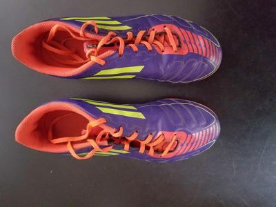 ADIDAS F50 SOCCER CLEATS, 5.5, EXCELLENT CONDITION