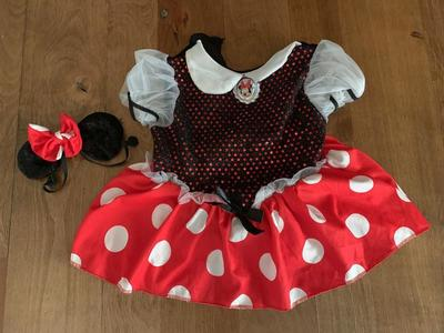 12 Month Minnie Mouse Costume