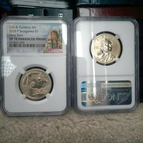 Enhanced uncirculated 2019 sacagawea for sale in Provo , UT