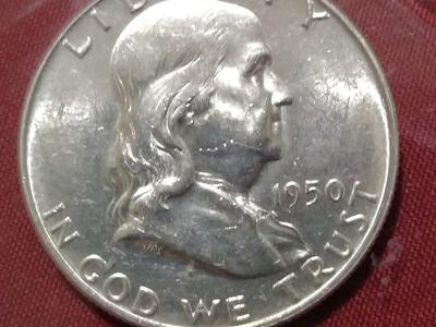 1950 MS  GEM+++ Franklin Half Dollar