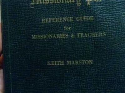 Old LDS mission booklet