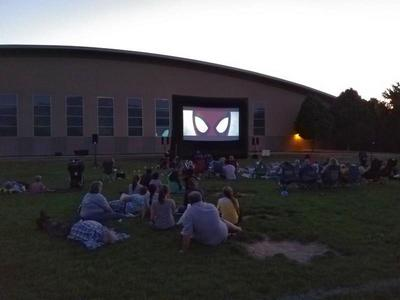 Outdoor Inflatable Movie Screen System Rental