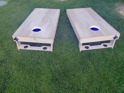 Custom Cornhole (Corn Hole) Boards - Sturdy/Strong