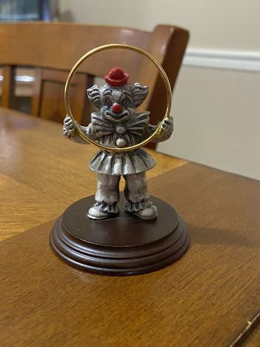 George Good Pewter Clown for sale in Clearfield , UT