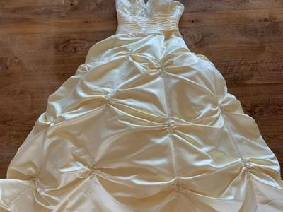 Fancy Yellow Prom Dress Size 0