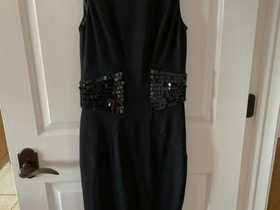 Size 4 Fancy Black Dress