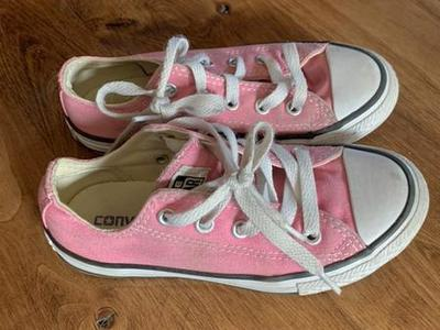 Kids Pink Converse Shoes Size 12