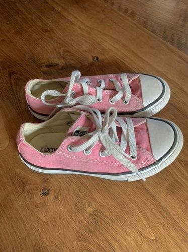 Kids Pink Converse Shoes Size 12 for sale in Riverton , UT