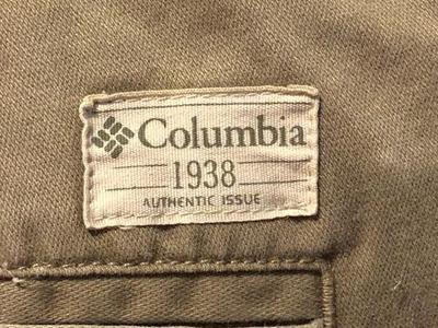 "👖 Columbia ""1938"" Pants 34 Waist 32 Length 👖"