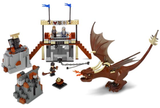 Lego Harry Potter and the Hungarian Horntail for sale in Kaysville , UT