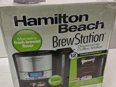 Hamilton Beach - Brew Station 12-Cup Coffee Maker - Black