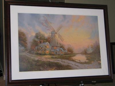 Thomas Kinkade Limited Edition Framed Artwork - 46x34""