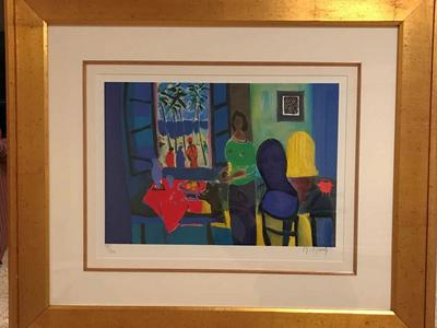 Marcel Mouly Limited Edition Framed Artwork