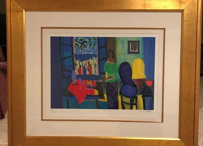 Marcel Mouly Limited Edition Framed Artwork for sale in Idaho Falls , ID