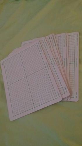 8 pack of Coordinate grid 9