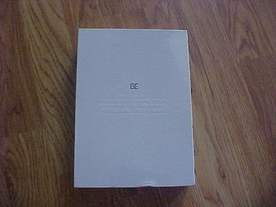 NEW BTS BE Deluxe Edition CD Box Set