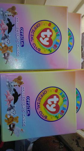 ty collectors cards in folders set of 4 for sale in Hurricane , UT