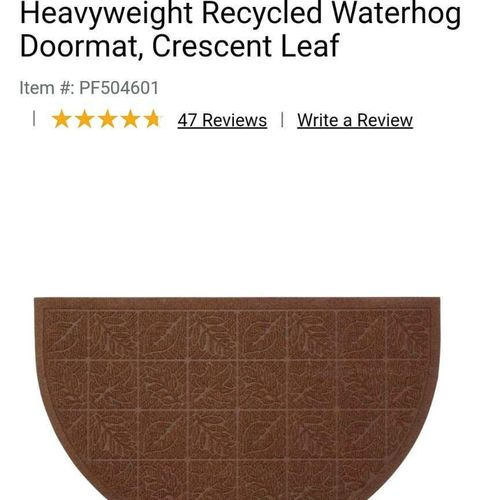 Half circle doormat  for sale in Salt Lake City , UT