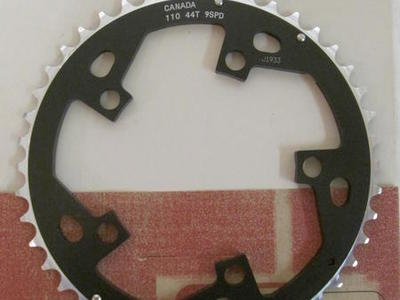 Race Face Tandem Chainring 110x44T 9spd: NEW
