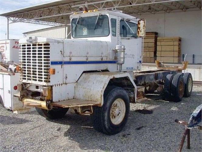 1981 Oshkosh FF2346 - 6x6 Cab & Chassis for sale in Salt Lake City , UT