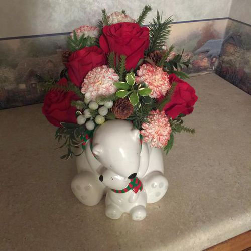 Beautiful  Silk Flower Arrangement for sale in Provo , UT