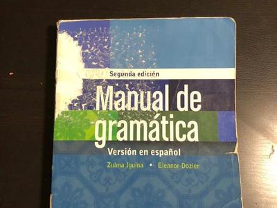 Manual De Gramática Version En Español