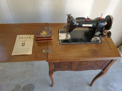 Antique Adler CL. 87 Sewing Machine