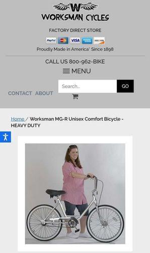 New Worksman Bike unisex MG/MGR  for sale in West Jordan , UT