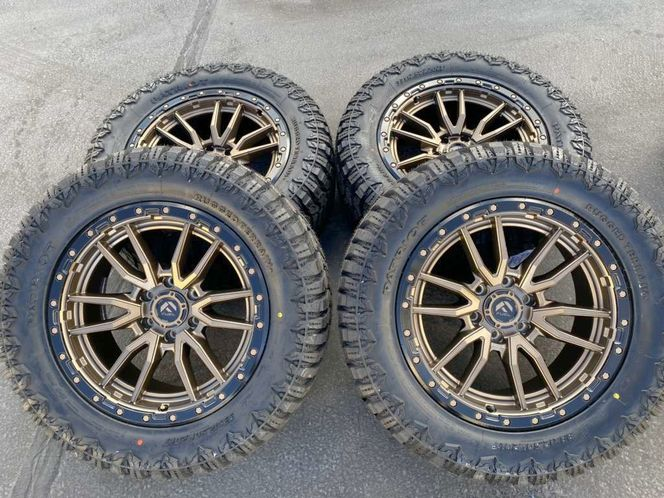 Bronze Fuel Rebel 6x5.5 33x12.50r20 Patriot RT GMC for sale in Logan , UT